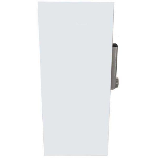 Wall Mount Locking Cabinet - Side