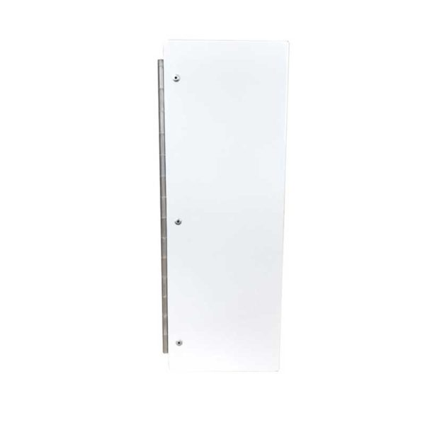 Wall Mounted Locking Cabinet - Side