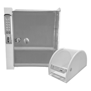 Dual Products - Small Wall Mounted & Portable Lock Box